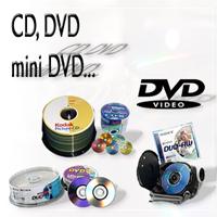 CD, DVD, Clé USB